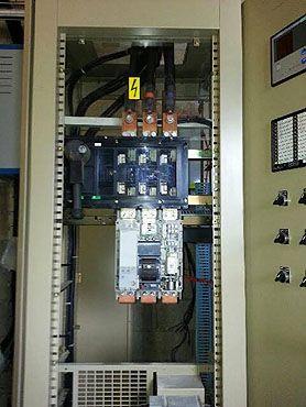 Remplacement disjoncteur entrepôt LIDL